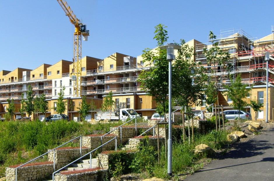 Les jardins de haye nancy haut du li vre ghx architectes - Residence les jardins de la haye nancy ...